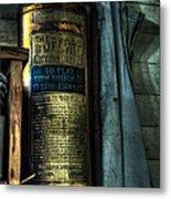 Cobblers Fire Extinguisher Metal Print
