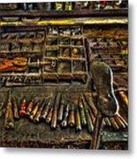 Cobblers Tools Metal Print
