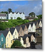 Cobh Town Houses Metal Print