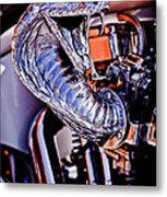 Cobra Breath Metal Print