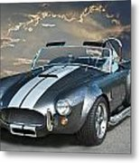 Cobra In The Clouds Metal Print