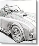 Ac Ford Cobra With 427  Metal Print
