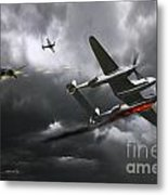 Cobra Strike Metal Print