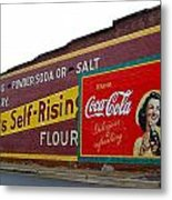 Coca Cola Advertisement Metal Print