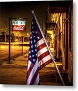 Coca-cola And America Metal Print