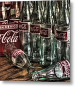 Coca Cola - Hecho En Mexico Metal Print