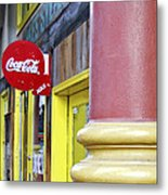 Coca Cola In St. Louis Metal Print