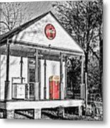 Coca Cola In The Country Metal Print