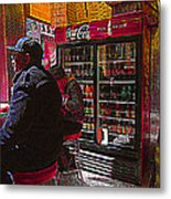 Coca Cola Lunch Metal Print