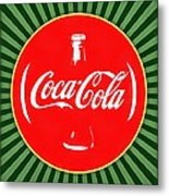 Coca Cola Pop Art  Metal Print
