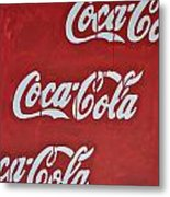 Cocacola Metal Print