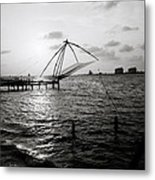 Dusk At Cochin Metal Print