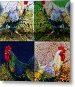 Cock 2 Metal Print