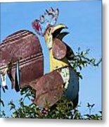 Cock Of The Roost Metal Print