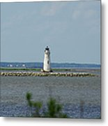 Cockspur Island Light Metal Print