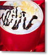 Cocoa Java Coconut Bliss Metal Print