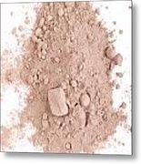 Cocoa Powder Metal Print