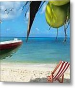 Coconut Bay Metal Print