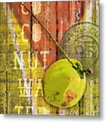 Coconut Water Metal Print