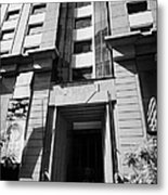 codelco headquarters chilean state owned copper mining company Santiago Chile Metal Print