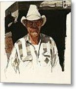 Cody Cowboy 2 Metal Print