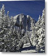 Cody Peak After A Snow Metal Print