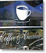 Coffee And Chocolate Metal Print