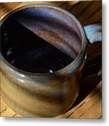Coffee Connoisseur No.3 Metal Print by Christine Belt