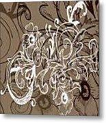Coffee Flowers 7 Metal Print