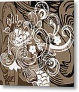 Coffee Flowers 8  Metal Print