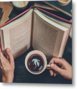 Coffee For Dreamers Metal Print