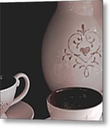 Coffee Service Metal Print