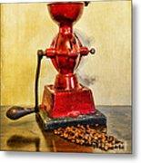 Coffee The Morning Grind Metal Print
