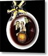 Coffee With The Munsters Metal Print