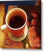Coffeetable Book Metal Print