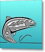 Coho Salmon Metal Print
