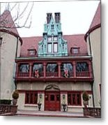 Coindre Hall Entrance Metal Print