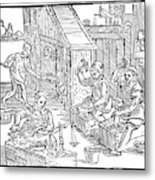 Coiners, 1577 Metal Print