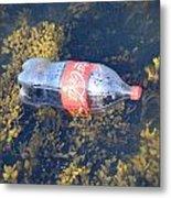 Coke Among The Seaweed Metal Print