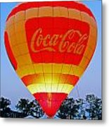 Coke Float Metal Print