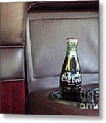 Coke To Go Metal Print