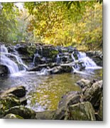 Coker Creek Falls Metal Print