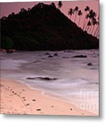 Cola Beach Sunset Metal Print