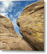 Colby's Cliff Metal Print
