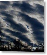 Cold Cloudscape Metal Print