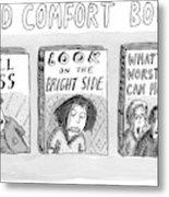 Cold Comfort Books Metal Print