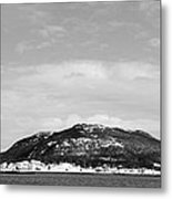 Cold Day In The Harbour  Metal Print