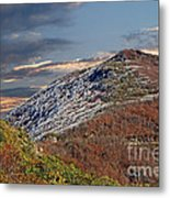 Cold Day On The Blue Ridge Metal Print
