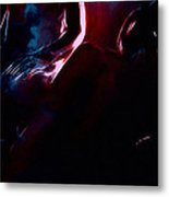 Cold Heart Hot Blood Metal Print