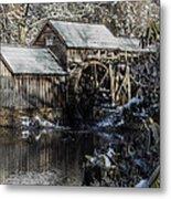 Winter Mill Metal Print